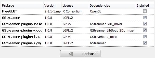 Tutorial : GStreamer audio player under Windows (Vala